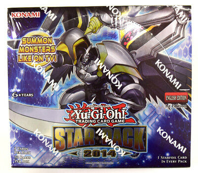Yu-gi-oh! Yugioh Star Pack 2014 Factory Sealed 1st Edition English Booster Box