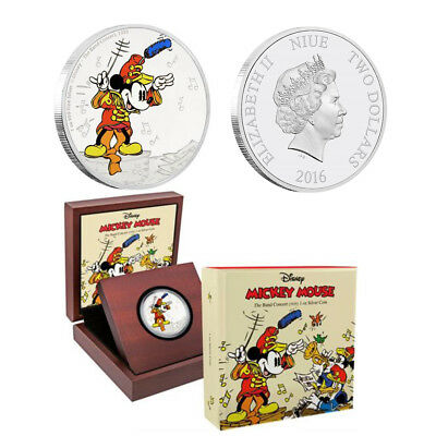 Disney Classics - Mickey Through the Ages -The Band Concert 1 oz Silver Coin
