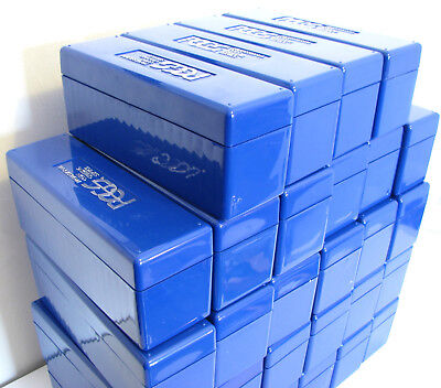 4 Used Pcgs Blue Plastic Boxes For $19.99 Delivered! Great Deal!