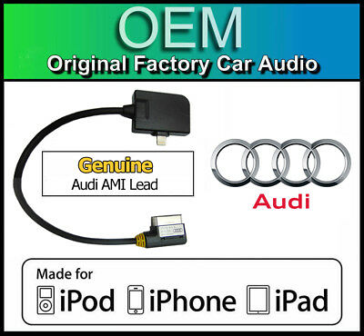 XA9801-N5 jack Cable Lead for iPhone//iPod Audi A5,A6,A8,TT,R8