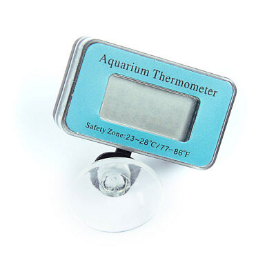 Fish Tank Digital Thermometer Temperature Gauge With Sucker Aquarium Accessory
