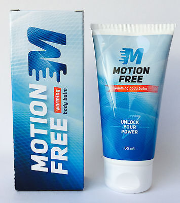 Motion Free warming body balm *NEU* 65ml (84,46€/100ml) BLITZVERSAND MOTION FREE