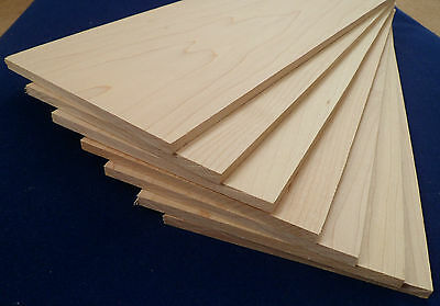 1 × Solid Maple wood Sheets 4mm,6mm or 8mm Laser Cutter Engraver