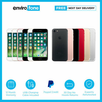 Apple iPhone 7 32GB 128GB 256GB Various Colours Unlocked SIM Free Smartphone