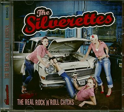 The Silverettes - The Real Rock'n'Roll Chicks (CD) - Revival Rock & Roll/Rock...