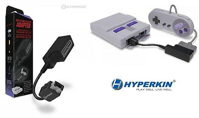 Hyperkin Controller Adapter for SNES to SNES Classic Edition / Wii U / Wii
