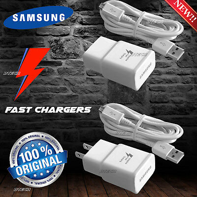 New Original Charger Samsung Galaxy S6 S7 Edge Note 4 Note 5 Adaptive Fast Rapid