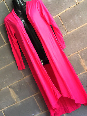 lot of 5 maxi lenght spandex jacket.long sleeves.5 colours.good quality.FIT MANY