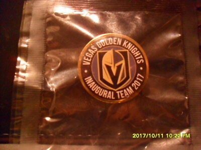 New In Package Las Vegas Golden Knights Inaugural 2017 Team Pin *rare- Not Sold*