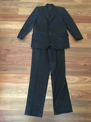 Boys Size 14 Black Suit