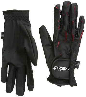 (X-Large, White) - Chiba Gloves Sport Horse Riding Glove. Shipping is Free