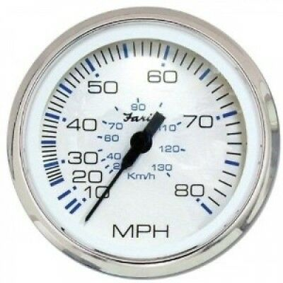 Faria 33819 Chesapeake 80 MPH Speedometer. Shipping Included