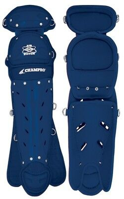 (Navy) - Champro HS 2 Knee Leg Guard. Shipping Included
