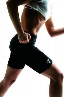 (Small, Black) - Rehband Womens Athletic Thermo-Shorts. Free Delivery