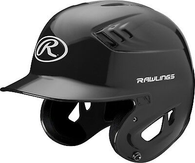 (Small, Black) - Rawlings Clear Coat Alpha Sized Batting Helmet. Free Delivery