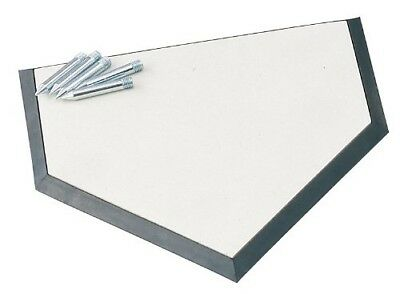 (OS, White) - Champion Sports Save-A-Leg Homeplate. Shipping Included