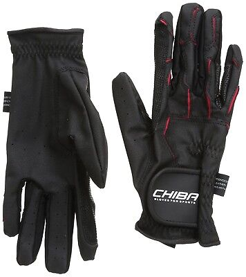 (X-Small, Black) - Chiba Gloves Sport Horse Riding Glove. Brand New