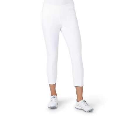 (Large, White) - adidas Golf Women's Ultimate Adistar Ankle Pants. Best Price