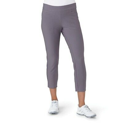 (Small, Trace Grey) - adidas Golf Women's Ultimate Adistar Ankle Pants