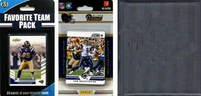 C & I Collectables 2012RAMSNTSC NFL St. Louis Rams Licenced 2012 Score Team
