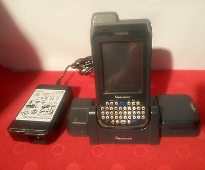 - Intermec CN4  Mobile Computer WITH CHARGER AND EXTRA BATTERY (NO STYLUS)