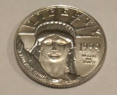1999 BU $25 PLATINUM American Eagle. Great unc coin.