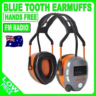 Bluetooth Earmuffs Hearing ear muffs Protection FM Radio Hands Free Call Answer