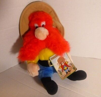 Looney Tunes Yosemite Sam Plush Stoffed Doll 1990 Toy 24K Mighty Star 13""