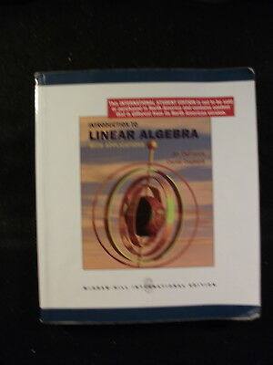 Introduction to Linear Algebra with Applications (Softcover, 2009) International