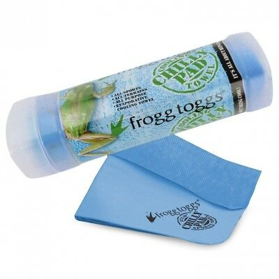(Varsity Blue) - Frogg Toggs The Original Chilly Pad Cooling Towel. Huge Saving