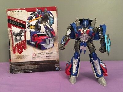 Transformers The Last Knight Movie Premier Edition Voyager Class Optimus Prime