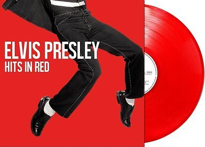 Elvis Presley - Hits in Red limitiert only 1000 red numbered vinyl 180g new