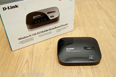 D-Link DIR-412 Wireless N 150 3G Mobile Broadband Router Complete in Box!!