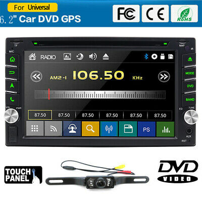 "For Sony Lens Double 2Din 7""Car Stereo Radio CD DVD Player iPod Bluetooth TV MP4"