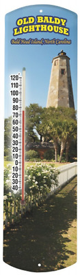 Heritage America by MORCO 375OBL Old Baldy Outdoor or Indoor Thermometer, 20-Inc