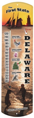 Heritage America by MORCO 375DE Delaware Outdoor or Indoor Thermometer, 20-Inch