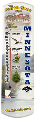 Heritage America by MORCO 375MN Minnesota Outdoor or Indoor Thermometer, 20-Inch