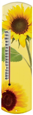 Heritage America by MORCO 375SUN Sunflower Outdoor or Indoor Thermometer, 20-Inc