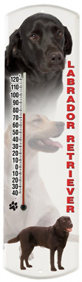 Heritage America by MORCO 375LAB Labrador Retriever Outdoor or Indoor Thermomete