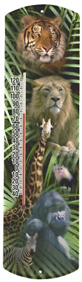 Heritage America by MORCO 375ZOO Zoo Animals Outdoor or Indoor Thermometer, 20-I
