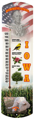 Heritage America by MORCO 375IA Iowa Outdoor or Indoor Thermometer, 20-Inch