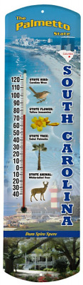Heritage America by MORCO 375SC South Carolina Outdoor or Indoor Thermometer, 20