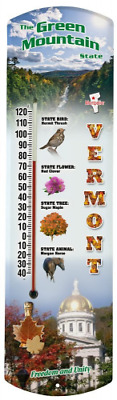 Heritage America by MORCO 375VT Vermont Outdoor or Indoor Thermometer, 20-Inch