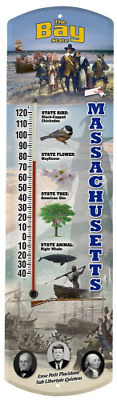 Heritage America by MORCO 375MA Massachusetts Outdoor or Indoor Thermometer, 20-