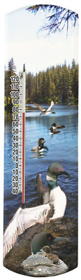 Heritage America by MORCO 375LOON Loon Outdoor or Indoor Thermometer, 20-Inch