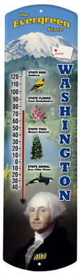 Heritage America by MORCO 375WA Washington Outdoor or Indoor Thermometer, 20-Inc