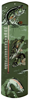 Heritage America by MORCO 375F Fish Outdoor or Indoor Thermometer, 20-Inch