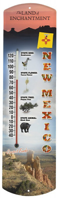 Heritage America by MORCO 375NM New Mexico Outdoor or Indoor Thermometer, 20-Inc