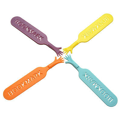 1 Sets THE BOOK Novelty Bookmark Funny Bookworm Reading G4J2