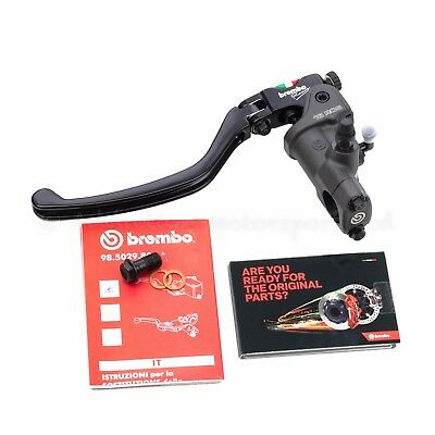 BREMBO 16RCS 16 RCS Radial Clutch Master Cylinder Folding Lever 16mm 16/18 Ratio